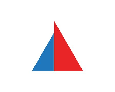 triangle Logo Template design