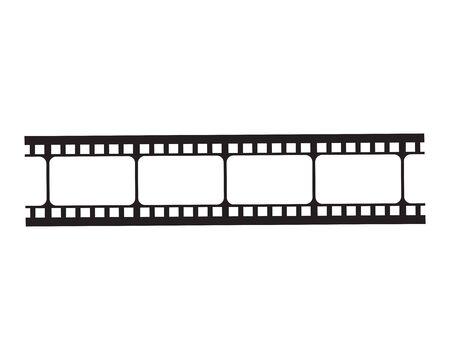 filmstrip Logo Template vector illustration design