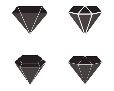 Diamond Logo Template vector icon illustration design