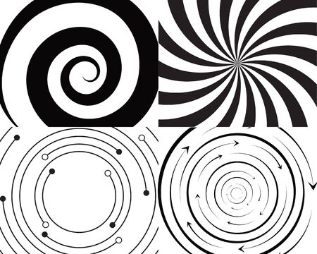 vortex circle logo and symbols template icons app Zdjęcie Seryjne - 128961216