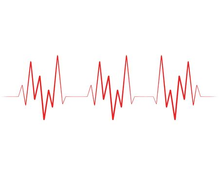Art design health medical heartbeat pulse vector template Stock Vector - 128962744