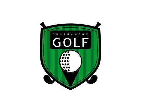 Golf Logo Template vector illustration icon desig Иллюстрация