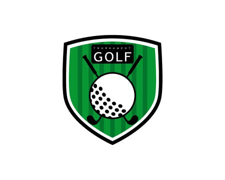 Golf Logo Template vector illustration icon desig Illustration