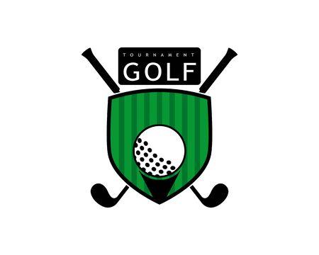 Golf Logo Template vector illustration icon desig