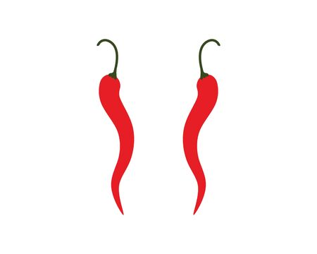 Hot Chili vector icon illustration design Stockfoto - 129085587