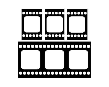 film strip Logo Template vector illustration design
