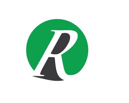 r logo letter Logo