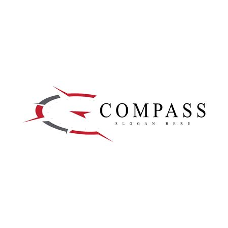 Vector - Compass signs and symbols logo 矢量图像