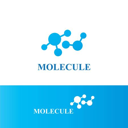 Molecular structure chemical atoms vector illustration Archivio Fotografico - 129148357