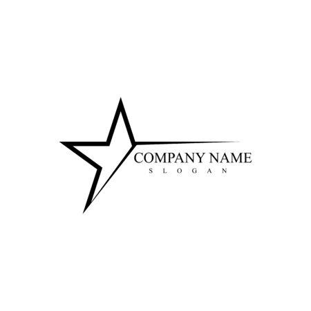 Star logo template vector icon illustration design Ilustração