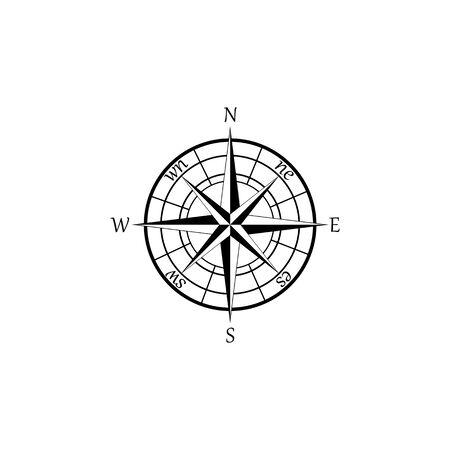 Banque d'images - Signes et symboles de la boussole logo