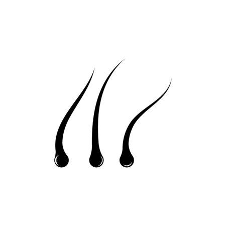 hair icon vector illustration design logo template