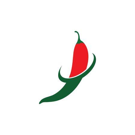 Hot Chili vector icon illustration design