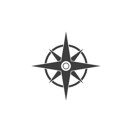 Vector - Compass signs and symbols logo Vectores
