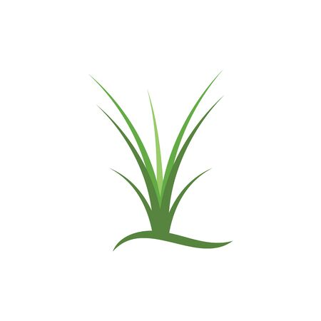 Grass vector template Ilustrace