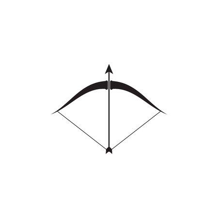 Arrow archery icon vector illustration Logo Template design Illustration