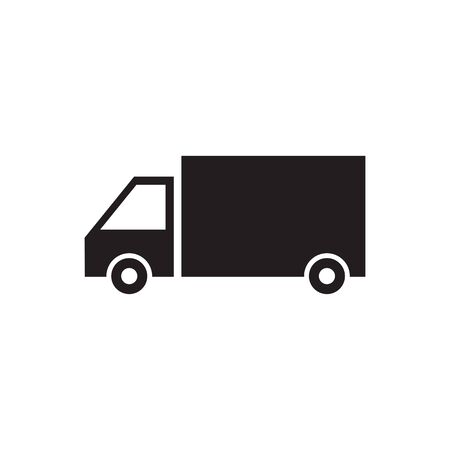 Truck icon ilustration vector template illustration