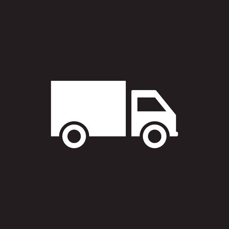 Delivery Truck Icon Vector Design  Template