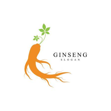 Ginseng icon Vector Illustration design