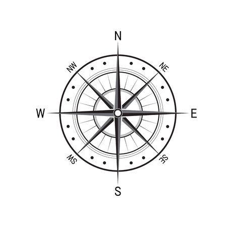 Kompass Logo Vorlage Vektor-Symbol Illustration Design