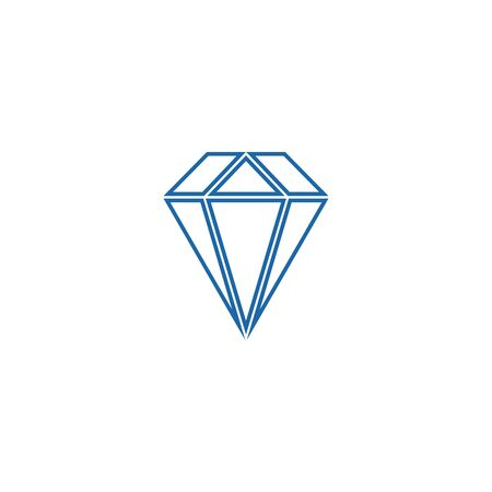 Diamond  Template vector icon illustration design