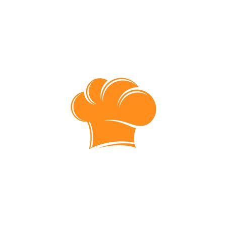 Chef hat logo template vector icon