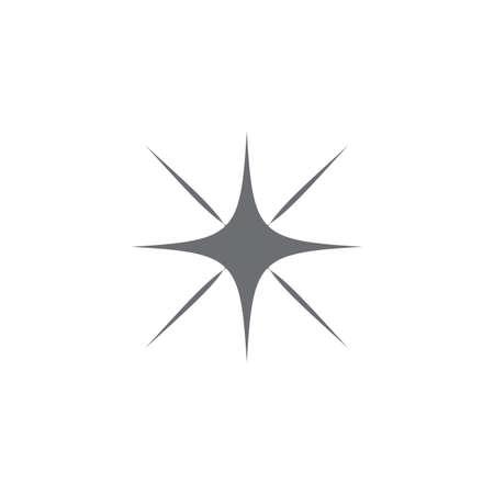 Star logo template vector icon illustration design Logo