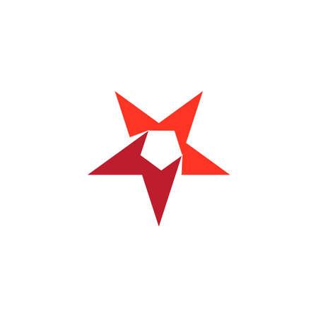 Star logo template vector icon illustration design 矢量图像