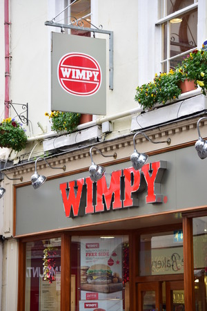 retailing: Wimpy High street shops and shopping
