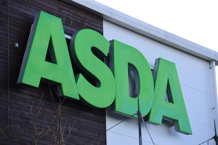 Asda sign Editorial