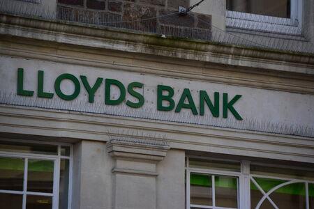 lloyd's: LLoyds bank Bideford, Devon