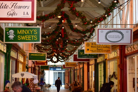 Bideford Market at - xmas Editorial