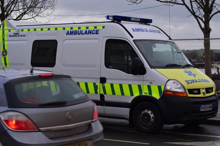 St. John Ambulance vehicle
