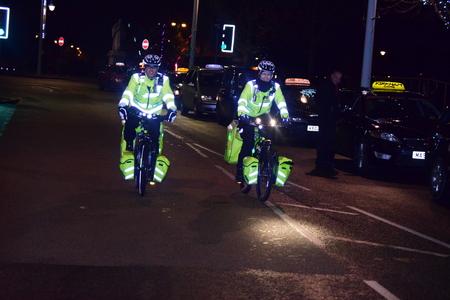St John Ambulance first aid cycle responders