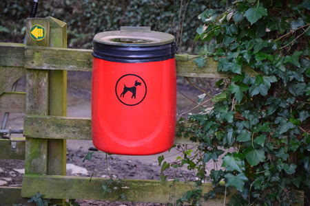 dog bin photo