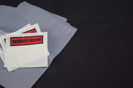 enclosed: the pack for documents, documents enclosed