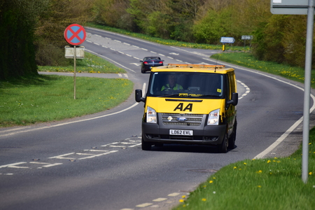 aa: AA Break down van