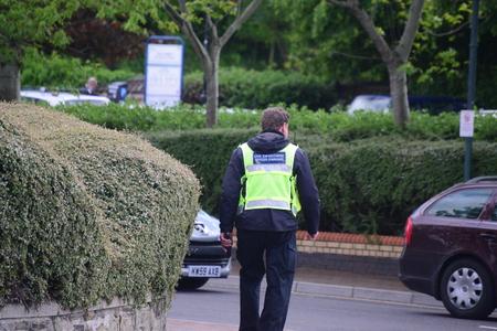 police unit: Barnstaple Traffic warden