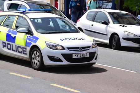 bobby: Police car