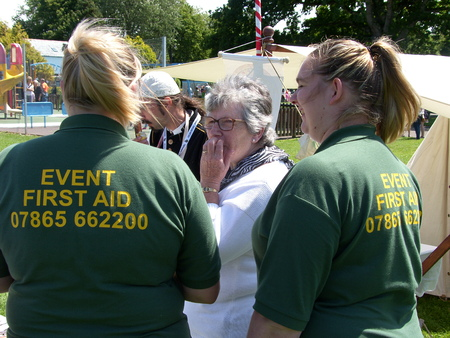 first day: Bideford Heritage day 2014 first aid cover Editorial