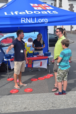lifeboats: appledore summer fete 2014 RNLI Lifeboats Editorial