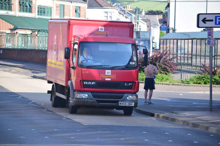 comunicaci�n escrita: Correo Royal Van en Barnstaple - norte de Devon Editorial