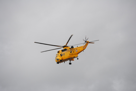 royal air force: Royal Air Force Sea King helicopter