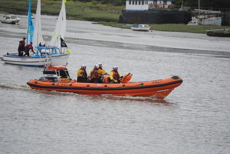 insure: RNLI Insure lifeboat, English coastguard