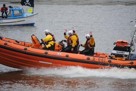 coastguard: RNLI Insure lifeboat, English coastguard