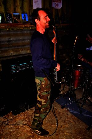 gig: August 7th 2015 - 9 yards play for local heartland gig in aid of CRY