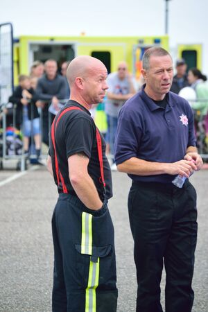Firemen, from Devon and Somerset fire Editorial