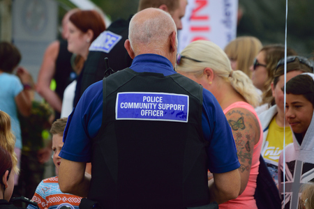 PCSO Police Community support officer Editorial