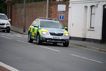 RRV Ambulance car