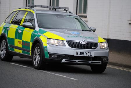 Ambulance RRV car